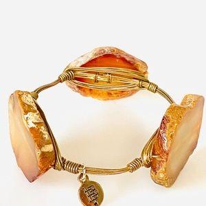 "Bourbon and Boweties Bangle Bracelet 8"""